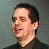 Scott F. Pfeifer speaking at the 2008 ADA Spring Symposium.