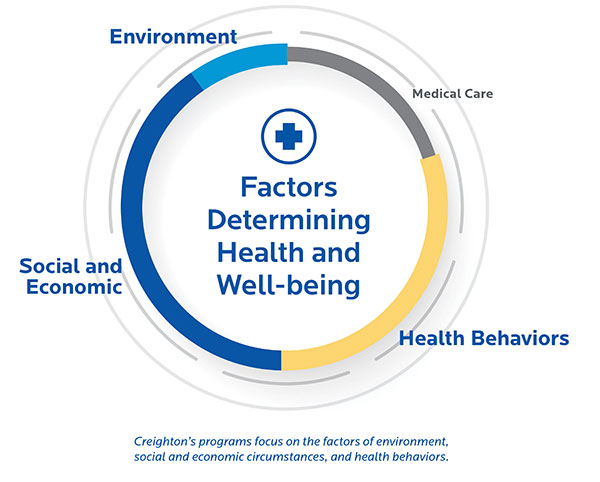 Factors Determining Health and Well-being