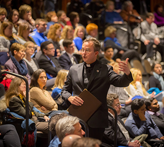 Convocation Address Highlights Creighton's Leadership in Education, Community