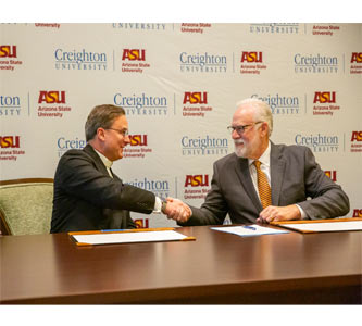 Creighton University and Arizona State University Announce Partnership to Advance Health Care Education