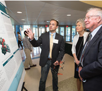 Poster presentation to highlight summer findings for undergrad Ferlic Research Fellows