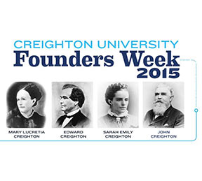 Creighton readies for Founders Week events, Feb. 1 through 7