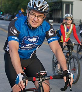 Father and Father on RAGBRAI: Creighton president, dad prep for fabled ride across Iowa
