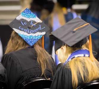 Two graduates awarded Spirit of Creighton at commencement ceremonies