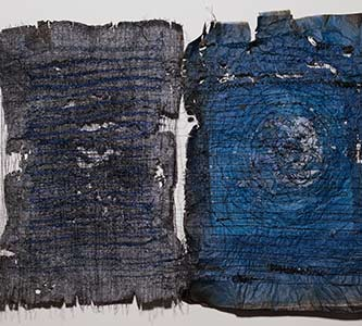 Interplay of text and textiles are focus of emerging artist exhibiting at Lied Gallery, Feb. 24-April 9