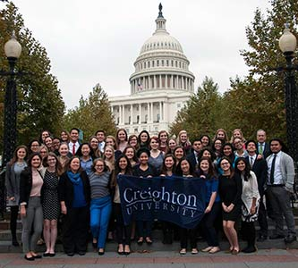 'More fuel to go do something': Creighton students, faculty, staff reflect on 20th Ignatian Family Teach-In for Justice