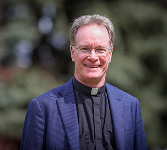 The Rev. Kevin FitzGerald, SJ, named to the John A. Creighton University Professor endowed chair