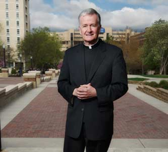 Creighton University President to Move Up Retirement