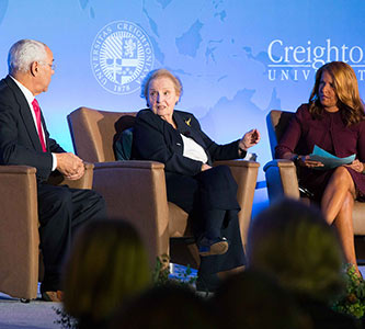 'American leadership is needed now more than ever': Former Secretaries of State Albright, Powell reflect on careers, present state of the nation