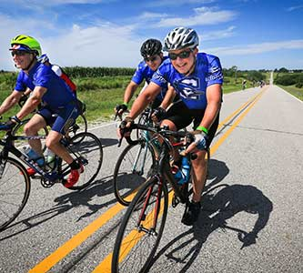 'We gotta fly': On the road with Fr. Hendrickson at RAGBRAI