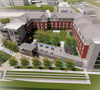 Creighton University announces plans for new residence hall for first-year students