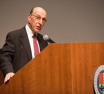 'The Devil's Bargain': Noted author Richard Rothstein lectures on racial divide in American housing