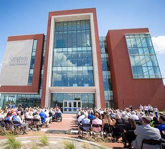 School of Dentistry cuts ribbon on new building, new era