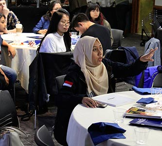 Southeast Asian scholars in State Department leadership program visit Creighton, talk ethics and exchange