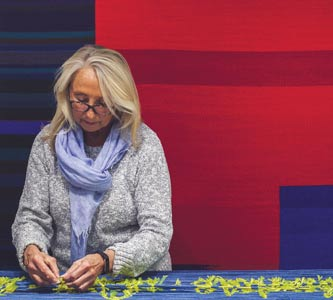 IKAT textiles of Mary Zicafoose to be featured in exhibit at Creighton