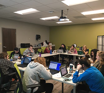 Creighton social work students earn certification to help with ACA signups
