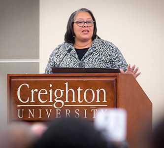 Be a Drum Major for Justice, Speaker Urges at Unity Prayer Luncheon