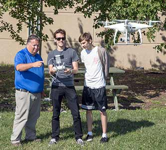 Creighton University : Aiming high: Drone Badge Program