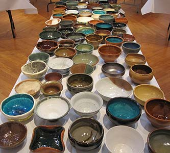 At onset of Year of Mercy, Empty Bowls Project hopes to fill shelves at Siena/Francis House