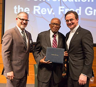 Civil rights icon and attorney the Rev. Fred Gray shares insights from a 63-year career