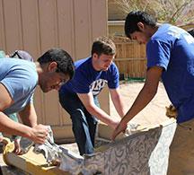 Creighton students embark upon Spring Break service trips