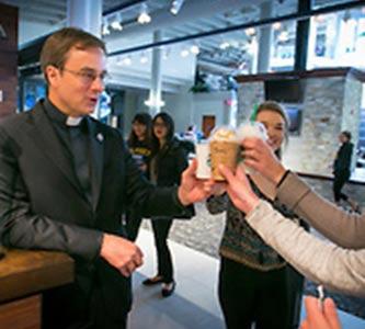 New brew: Starbucks opens at Skutt Student Center