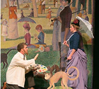 Musical 'Sunday in the Park with George' to paint a scene on Creighton Mainstage