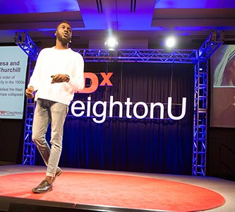 Talk about leadership: TEDxCreightonU brings an array of speakers to the stage for a day of insight, calls to action