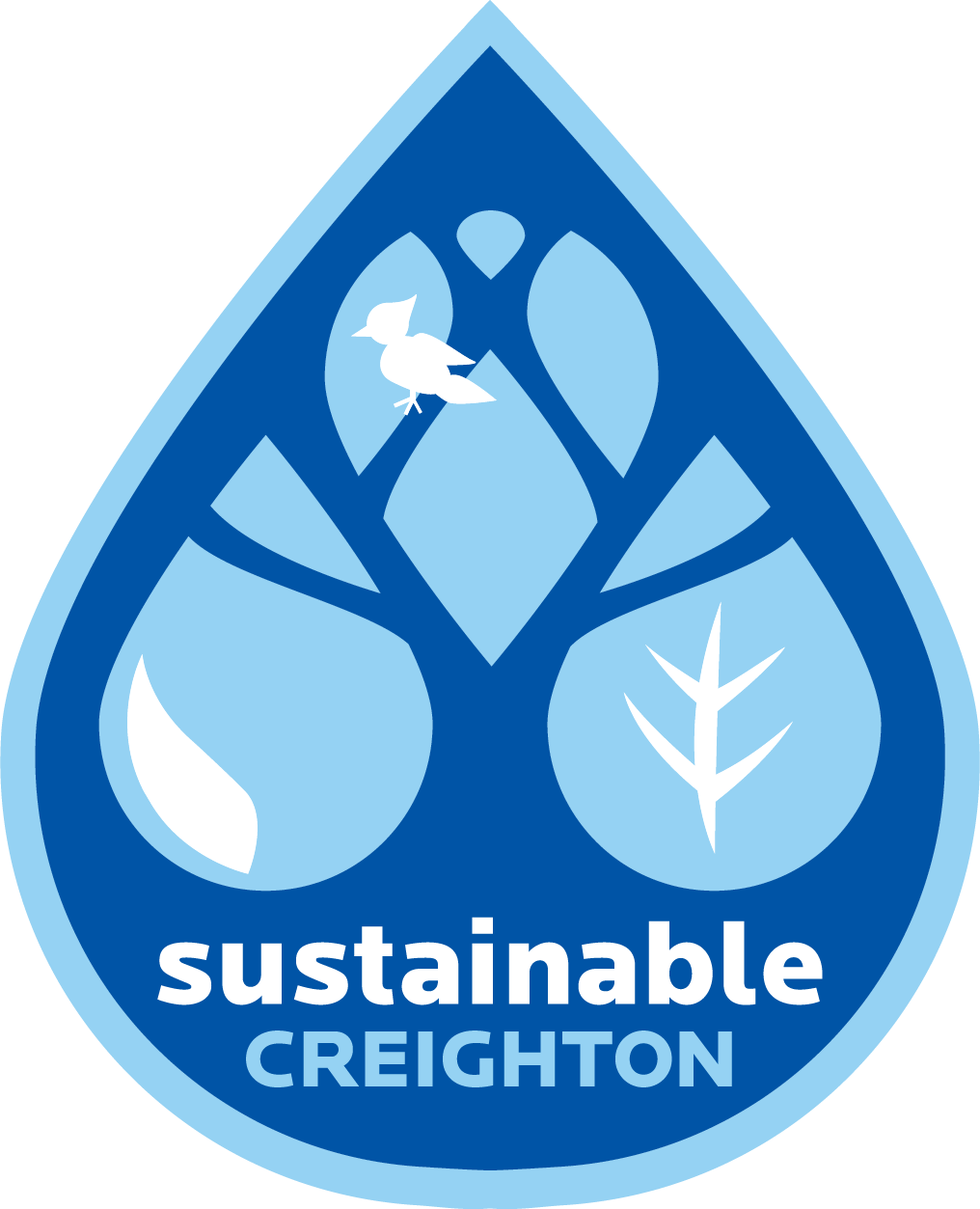 Small sustainable creighton logo