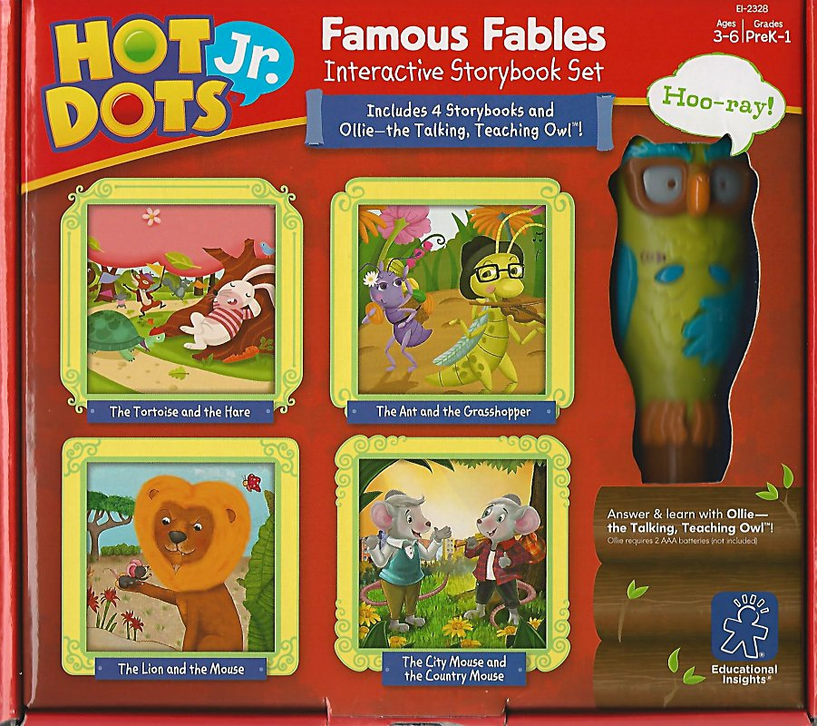 Creighton University :: Aesop's Fables: Hot Dots Jr  Famous