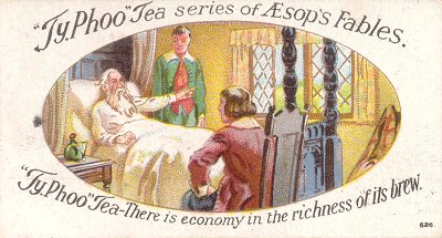 Creighton University :: Aesop's Fables: Tea Cards