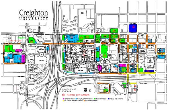 Creighton University Map Creighton University Map   AVIDADECOBO Creighton University Map